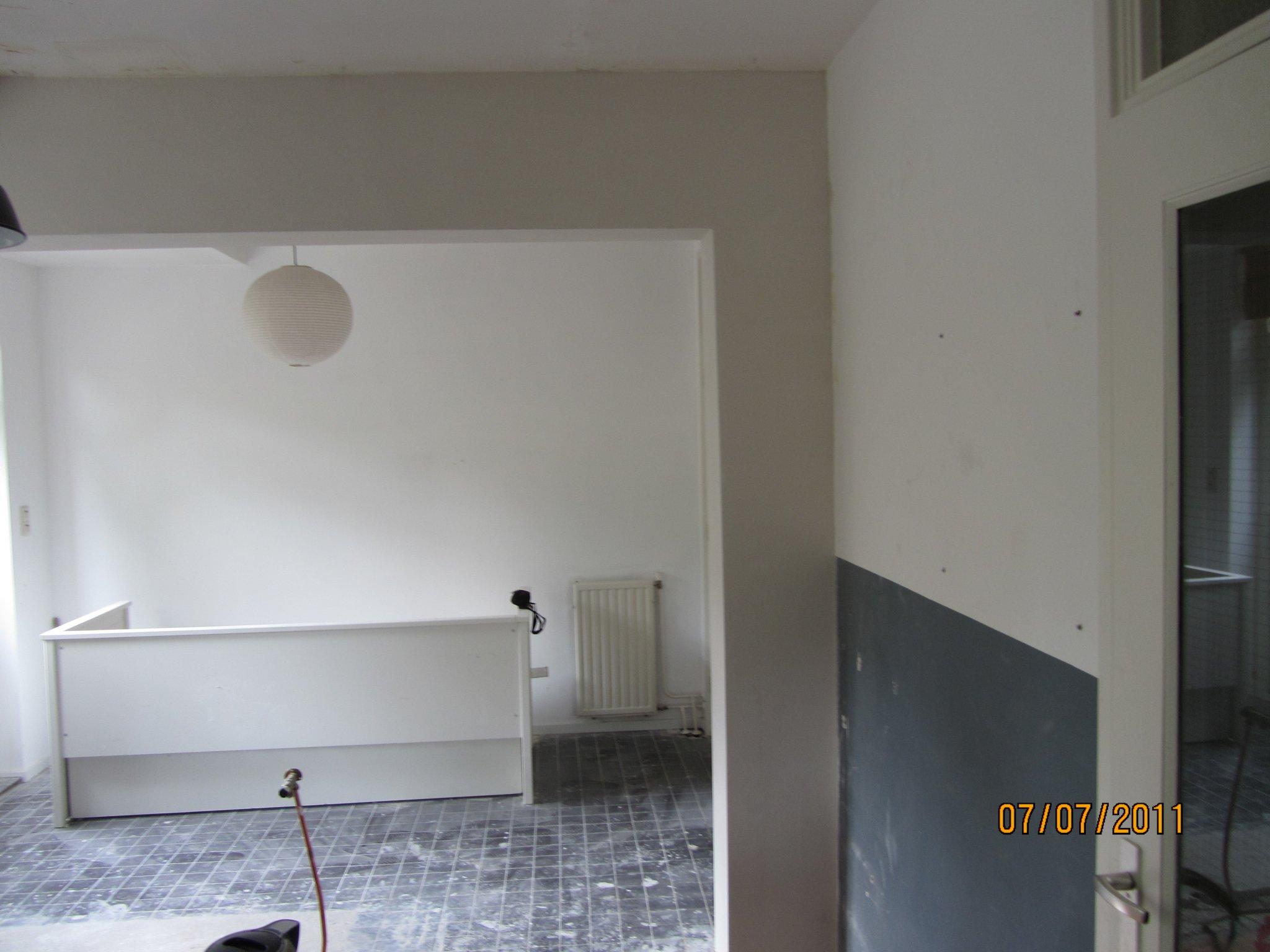 Keukenrenovatie Den Haag : Hollands Diensten ? Constructie plaatsen en doorbreken muur Den Haag